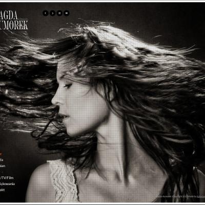 Magda Kumorek – strona www