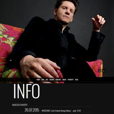 Rafał Grozdew -strona www